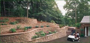 retaining wall 6